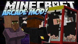 getlinkyoutube.com-Minecraft | ARCADE MOD! (Claw Machines, Prizes & More!) | Mod Showcase