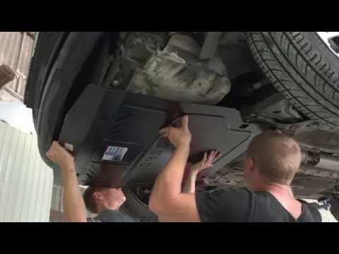 Установка защиты двигателя Кольчуга на Chevrolet Lacetti (Шевроле Лачетти)