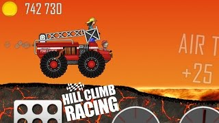 getlinkyoutube.com-Hill Climb Racing - New Vehicle: FIRE TRUCK [Android] Gameplay HD