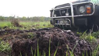 getlinkyoutube.com-Nissan Patrol, Terrano jazdy terenowe off-road Łask 4x4