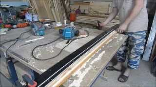 getlinkyoutube.com-Самодельная направляющая шина для ручной циркулярной пилы и фрезера