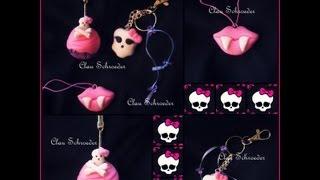 getlinkyoutube.com-Lembrancinhas / Souvenirs Monster High - Biscuit ,Porcelana Fria
