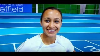 getlinkyoutube.com-Young Jessica Ennis-Hill on Trans World Sport