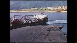 getlinkyoutube.com-The Ballachulish Car Ferry 1973