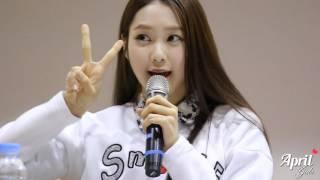 getlinkyoutube.com-151115 청주 팬싸인회 oh my girl - 지호 애교