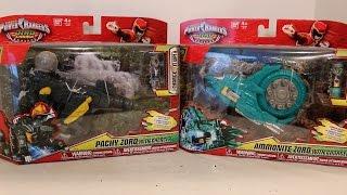 getlinkyoutube.com-Pachy Zord & Ammonite Zord Review [Power Rangers Dino Charge]