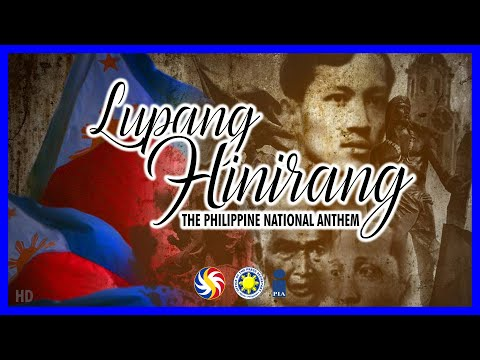 "The Official Philippine National Anthem - ""Lupang Hinirang"" in HD"