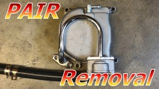 getlinkyoutube.com-Gy6 50cc Chinese Scooter PAIR System Removal : 139QMB Emissions : Racing Only