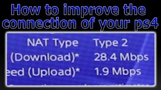 getlinkyoutube.com-PS4 - How to improve the connection (MAX SPEED)