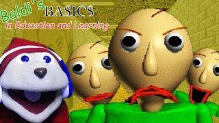 BALDI SPANKING CHIPMUNKS NOW?   BALDI'S BASICS - Educational Horror Game