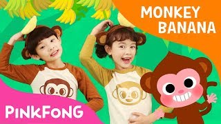 Monkey Banana Dance | Dance Along | Pinkfong Songs for Children