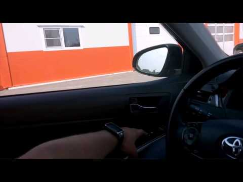 Обучение стеклоподъемников Toyota camry v50