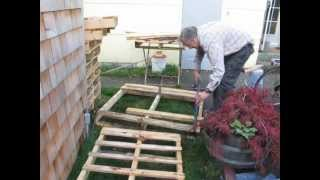 getlinkyoutube.com-It's EASY to take pallets apart! Try this method.