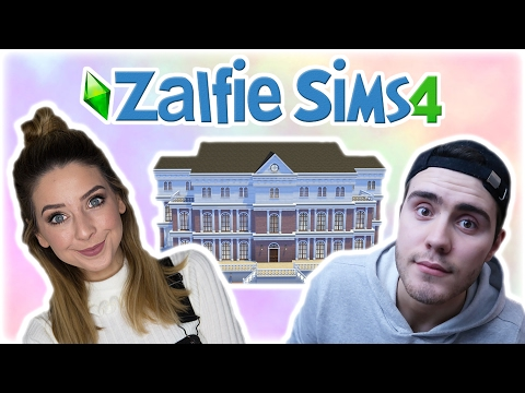 Moving In Together! | Zalfie Sims Edition [9]