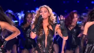 Beyonce live at NFL super Bowl 2013 Halftime show HD,Jay z gives Queen B a kiss philly show