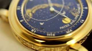 getlinkyoutube.com-pre owned Patek Philippe 5102G Celestial Grand Complication & unused Patek Philippe 5102J Celestial