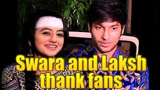 getlinkyoutube.com-Swara and Laksh of Swaragini thank fans for amazing response