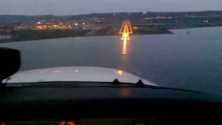 getlinkyoutube.com-Landing in Thessaloniki at sunset