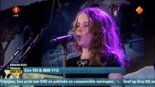 getlinkyoutube.com-Amira Willighagen - Singing for Victims of Typhoon Philippines - 18/11/2013