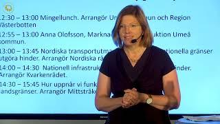 NATIONELL INFRASTRUKTURPLANERING-Helena Eriksson Regiondirektör Trafikverket Nord