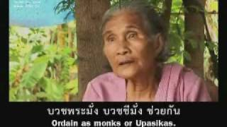 DMC TV Buddhist Lent Ordination Video July 2010 (English subtitles) Part 2 of 2