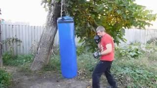 getlinkyoutube.com-Боксерский мешок(груша) своими руками из ПВХ ткани не хуже чем с магазина.