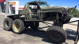1979 Chevrolet CK 6x6 Ultimate Off Road Truck Build Project