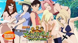 Naruto Ultimate Ninja Storm Revolution: Bikini DLC + New Gameplay Artwork