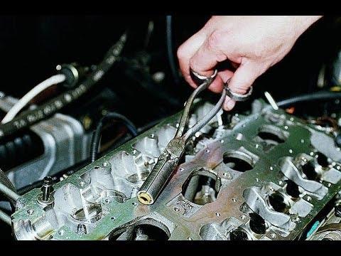 Замена маслоотражательных колпачков. ВАЗ 2112