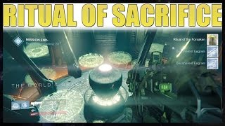 getlinkyoutube.com-Destiny - Ritual of Sacrifice Cheese And Walkthrough (NEW MISSION)