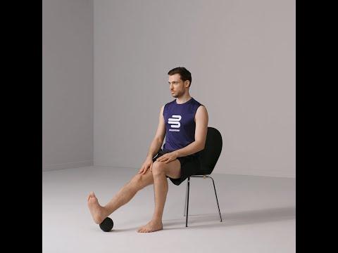 Knieübungen -  Strecken und Beugen im Sitz