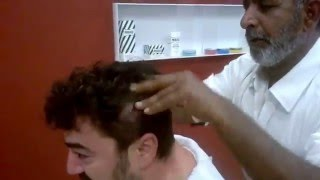 New Pakistan/indian barber head massage