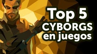 getlinkyoutube.com-Top 5 - Cyborgs en juegos