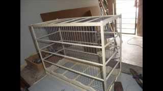 getlinkyoutube.com-como fazer uma gaiola de madeira para pássaros pequenos