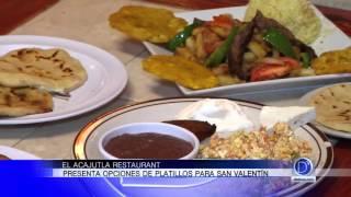 Platillos para San Valentín en El Acajutla Restaurant