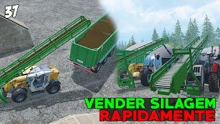 getlinkyoutube.com-Farming Simulator 2015 - Vender Silagem Rápidamente  PT-BR