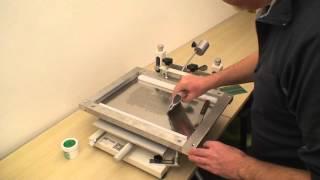 getlinkyoutube.com-PCB solder paste stencil printer, Neoden PM3040
