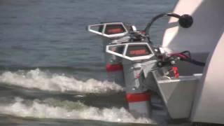getlinkyoutube.com-New Electric Boat - A 32 Foot Torqeedo Powered Catamaran: The Blue Planet 32E
