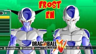 getlinkyoutube.com-Dragon Ball Xenoverse :  FROST EN DRAGON BALL XENOVERSE ! TUTORIAL COMO CREAR A FROST VS GOKU