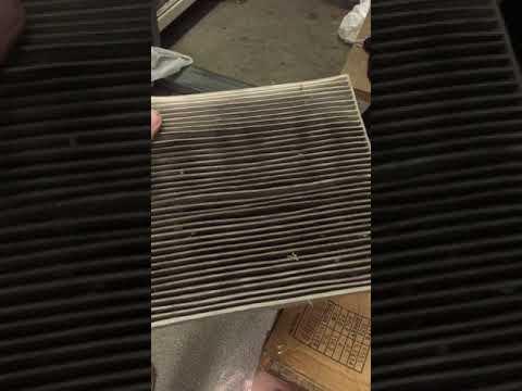 Honda Accord 8 салонный фильтр угольный лайфхак
