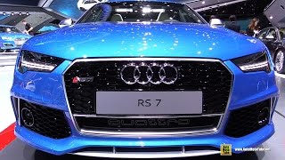 getlinkyoutube.com-2016 Audi RS7 - Exterior and Interior Walkaround - 2015 Frankfurt Motor Show