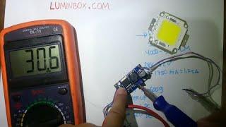 getlinkyoutube.com-Cara Pasang LED 50Watt dengan Driver