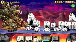 getlinkyoutube.com-The Battle Cats: Super Metal Slug Defence (Hard+++)
