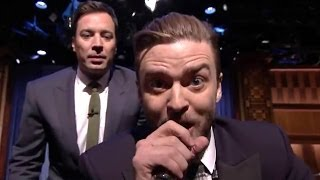 "getlinkyoutube.com-Justin Timberlake Raps Fresh Prince of Bel Air in ""History of Rap"" 5 on Jimmy Fallon Tonight Show!"