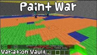 getlinkyoutube.com-Minecraft Bukkit Plugin - Paint War - Fun Mini game [MUST HAVE]