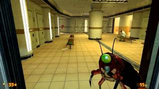 getlinkyoutube.com-Black Mesa - Scientist Slaughterhouse [Mod]
