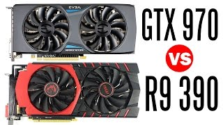 getlinkyoutube.com-MSI R9 390 Vs EVGA GTX 970 - Which one is the Better GPU?