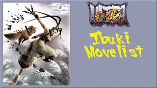 getlinkyoutube.com-Ultra Street Fighter IV - Ibuki Move List