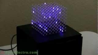 getlinkyoutube.com-Arduino LED Cube 8x8x8 (Webinar guest appearance by PyroElectro)