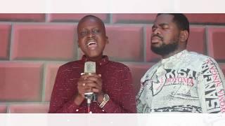 Molimo émission live mon cœur t'adore Fr Emmanuel Musongo en feat avec son élève Exaucé